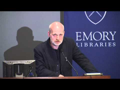 Acclaimed Scottish Poet Don Paterson reads at Emory University