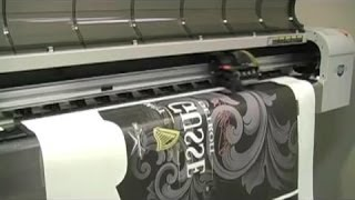 Heat Sublimation Printing on Nylon Polyester Garment