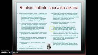 Ruotsin hallinto suurvalta-aikana