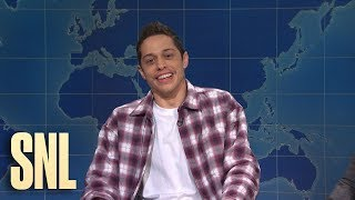 Pete davidson stops by weekend update to share his unique perspective on president trump getting impeached the house.subscribe snl: https://goo.gl/tusx...