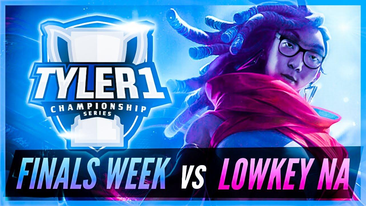 Huhi - TCS - FINALS WEEK vs LOWKEY NA highlights