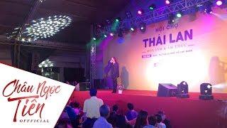 Châu Ngọc Tiên hát đoạn cải lương tự sáng tác theo yêu cầu bất ngờ từ khán giả