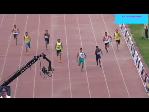 400m Run Men final  National Open Athletics Championships-2014. New Delhi.