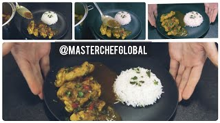 How to make a Chicken Curry Recipe  Pollo al curry receta  saladmaster cook with me