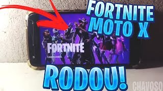 EXCLUSIVO😱FORTNITE MOBILE ANDROID NO MOTO X4 SEM ROOT APK MOD!