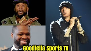 Lord Jamar Comes For Eminem Neck Again | 50 Cent Play Captain Save A Eminem!!!
