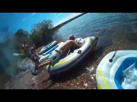 Rafting Down Cold River | Cold Lake, AB to Pierce Lake, SK