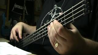 Thin Lizzy Whiskey In The Jar Bass Cover with Notes & Tablature