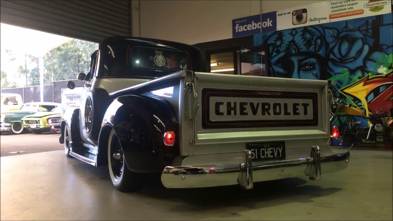 1951 Chevy Raiders truck build PART 2 - YouTube