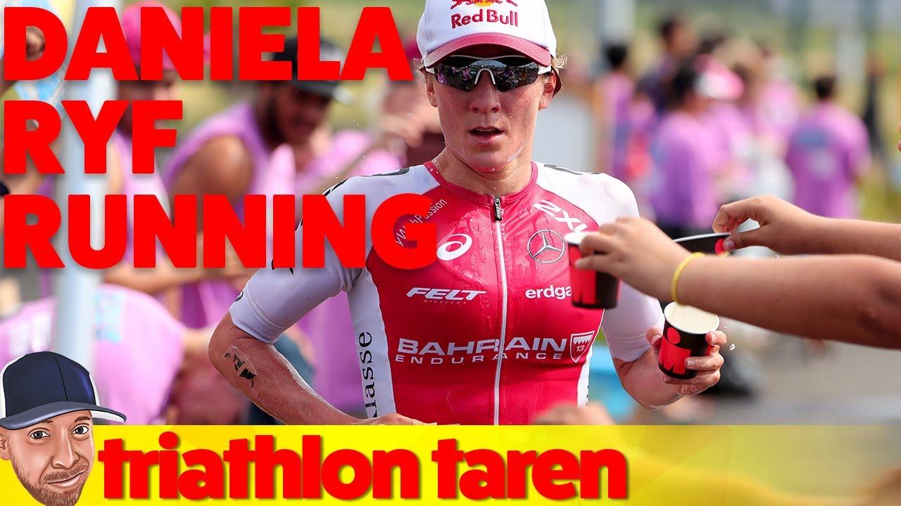 681c0c6a503 Daniela Ryf s Running Technique From Ironman Hawaii 2017 - YouTube