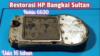 Restoration Nokia 6630 usia 16 tahun