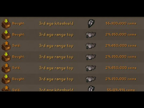 TOP 5 OSRS FLIPPING ITEMS! - MONEY MAKING - 30-60M Budget