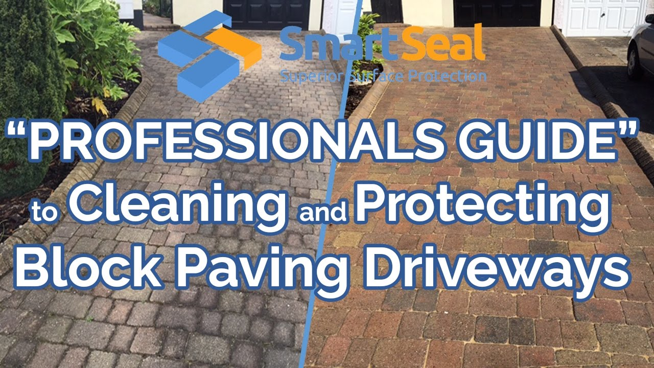 block paving brick pavers driveways experts guide to cleaning sealing full version