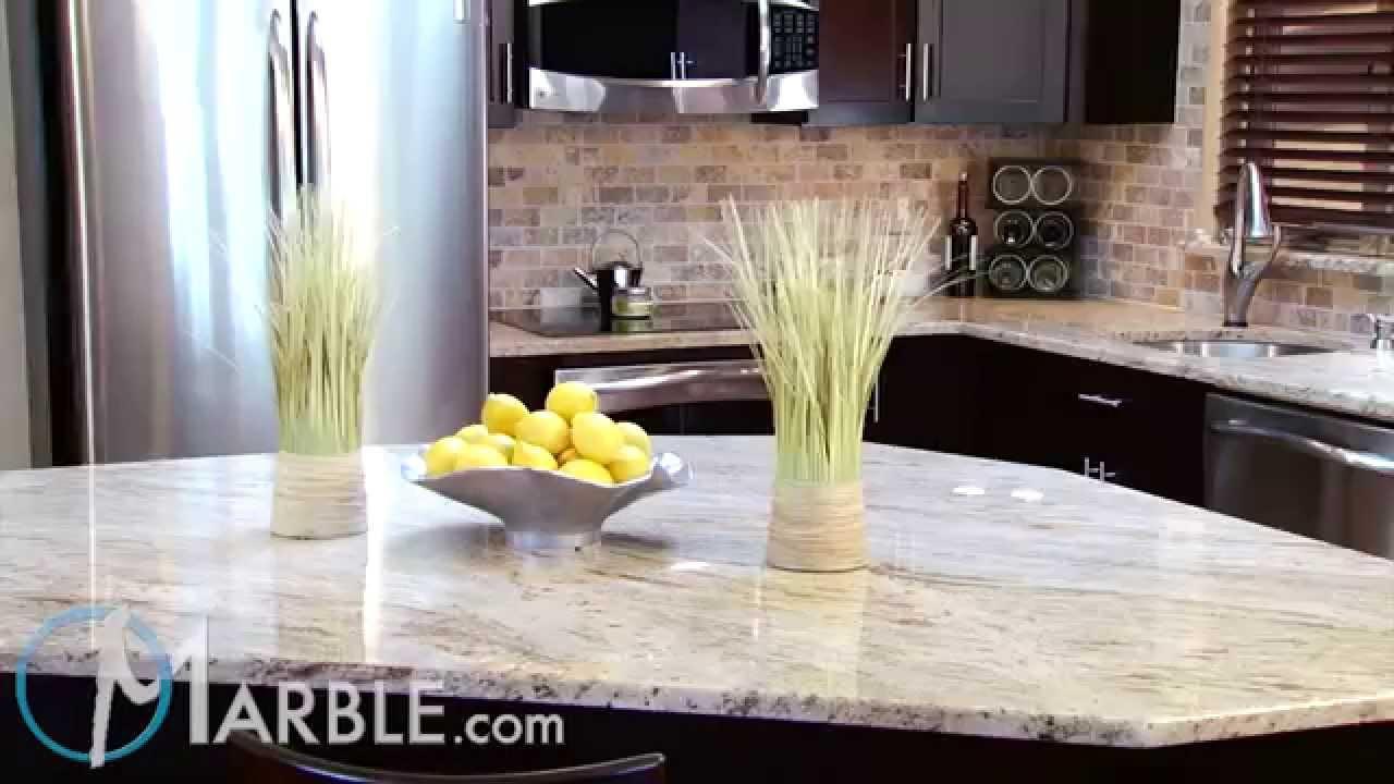Cielo De Oro Granite Kitchen Countertops By Marble Com Youtube
