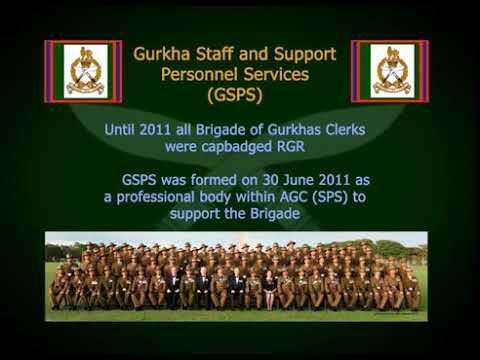 The history of brigade of Gurkhas