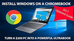 How to Install Windows 10 on a Chromebook [2017]