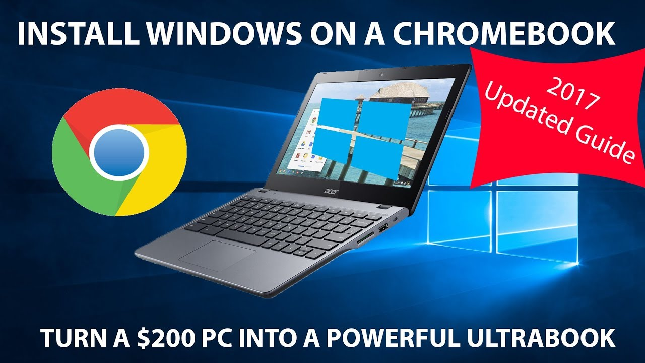 How to Install Windows 10 on a Chromebook