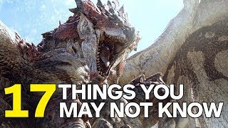 17 Things Monster Hunter World Doesn't Tell You