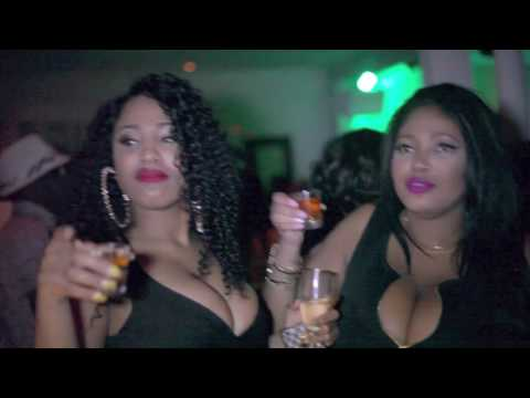 DJ Rleen with DJ Platinum D at a Haitian Party