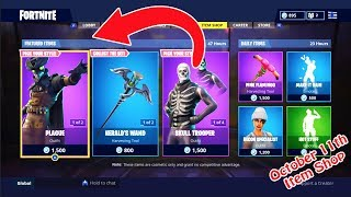 *NEW* PLAGUE AND SCOURCE SKINS + SKULL TROOPER AND SKULL RANGER - FORTNITE ITEM SHOP