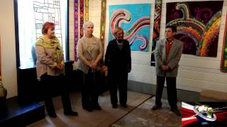 В Уфе открылся республиканский фестиваль лоскутного шитья «Корама туй»(В галерее