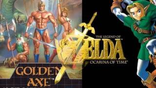 #88mph 36 - Golden Axe en 07:01 / Zelda Oot en 56:54 Part 2