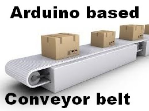 DIY Conveyor belt project Arduino + Color Sensor Best Arduino projects