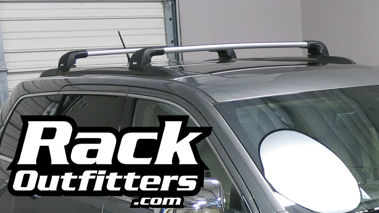 Jeep Grand Cherokee Thule Aeroblade Edge Roof Rack By Rack