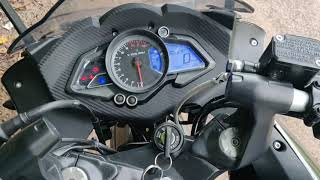 |Pulsar RS200 ABS version| |Problem with RS200| | Minor Vibration |