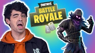 Is JOE JONAS Secretly ADDICTED TO FORTNITE???