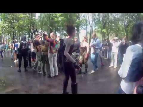 Зомби флэшмоб 2014 в Санкт - Петербурге Zombie Walk 6