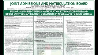 JAMB CBT Exam Video Guidelines - [2018-2020]