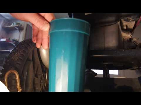 Honda GCV 160 Fuel Filter Replacement and How to Drain Gas