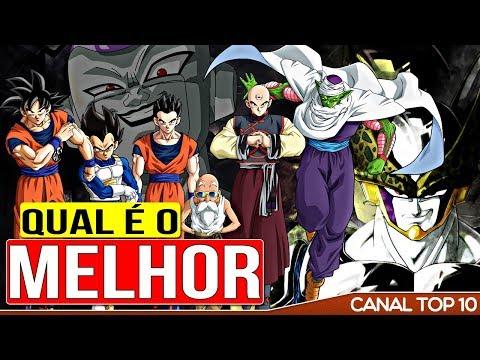 TOP 10 Melhores Guerreiros Dragon Ball Z | Canal TOP 10 🙌
