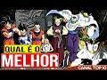 TOP 10 Melhores Guerreiros Dragon Ball Z Canal TOP 10 🙌