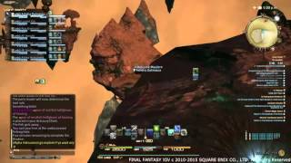 Final Fantasy XIV: Heavensward - BEst Fishing Spot in the Diadem for Pterodacyl