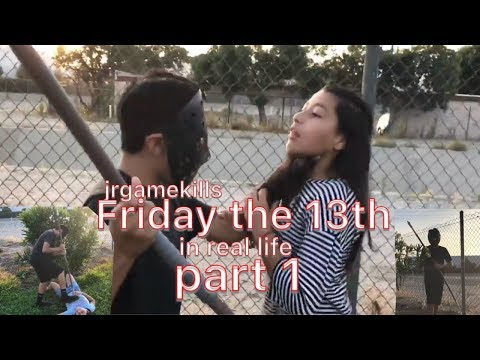 Friday the 13th in real life funny video must watch jrgamekills