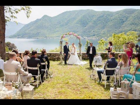 Свадьба в Черногории 19 сентября 2015 Александра и Преград