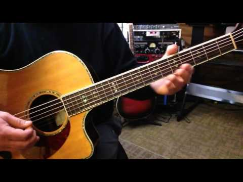Alternate Tuning FGCD#GC - Key G# Major