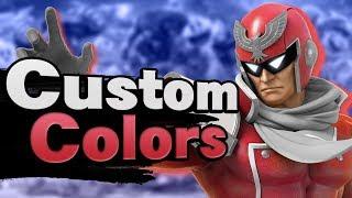 Color Customization In Super Smash Bros