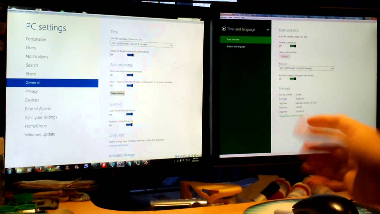 Windows 8 Vs 81 Side By Comparison