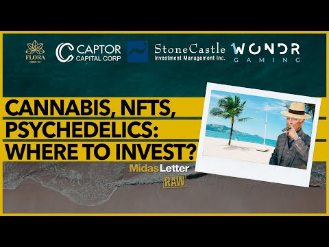 Cannabis, NFTs, Psychedelics: