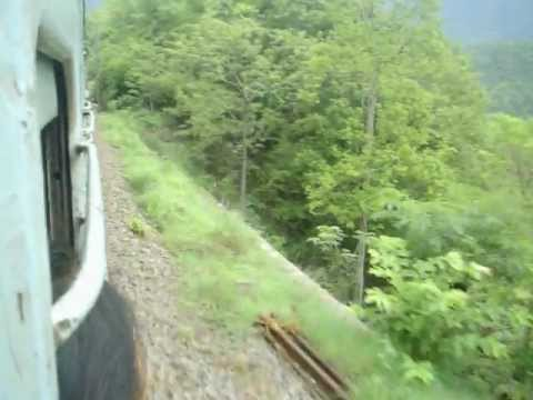 Vizag Araku Valley Train Journey - Kirandul Express