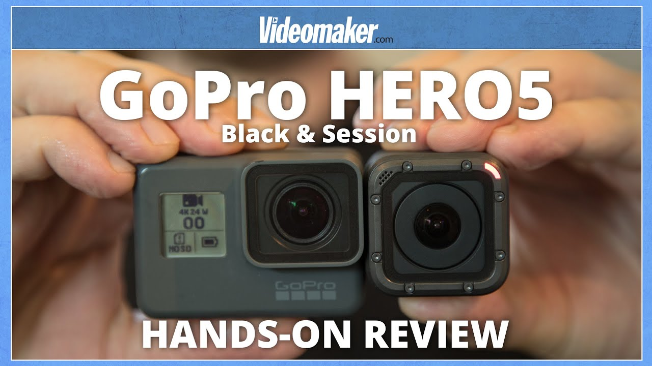 5a9349b021cbc GoPro HERO5 Black   Session - Hands-on Review - 4K - YouTube