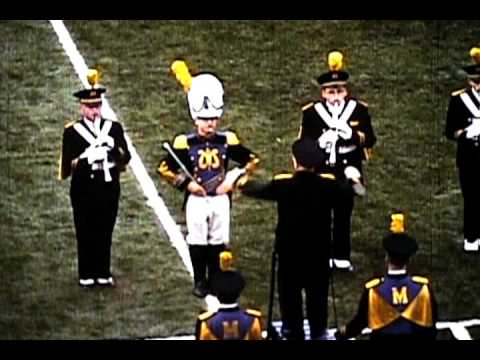 University of Michigan Marching Band - Phoenix Project (Early 60s 16mm Sound Film)