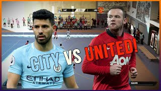 FIFA STREET 4 - FUTSAL MAN CITY VS MAN UTD