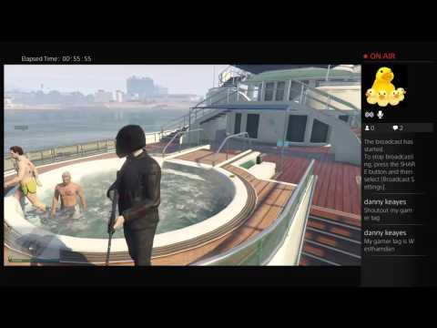 Gta 5 online yacht fun part 1