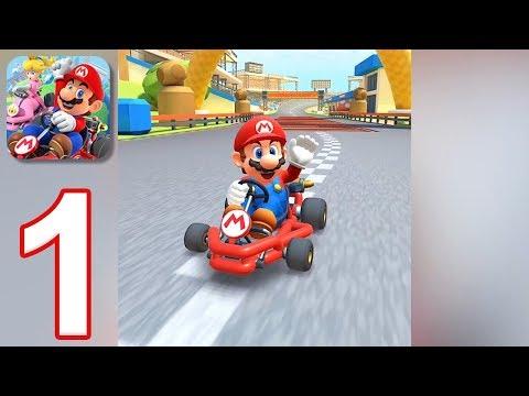 Mario Kart Tour - Gameplay Walkthrough Part 1 - Mario Cup (iOS, Android)