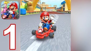 Mario Kart Tour - Gameplay Walkthrough Part 1 - Mario Cup (iOS, Android)