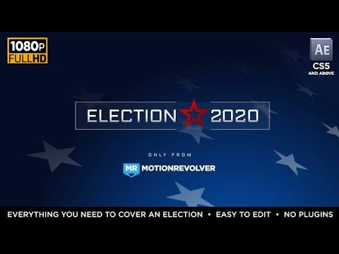 Election Essentials 2016( After Effects Project Files)